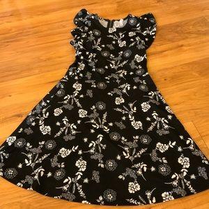Floral Flare Midi Dress